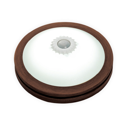Ceres Led Armatures With Sensor Wooden