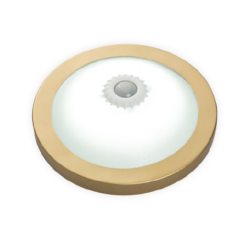 Ceres Led Armatures With Sensor Gold